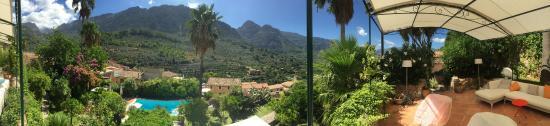 Fornalutx, Espanha: terrasse