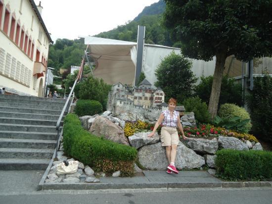 Vaduz Castle: Макет замка