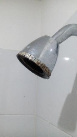 Hotel Alessio : Estado de la ducha 1