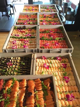 sushi voor meenemen - Picture of Sushi King Westmalle ...