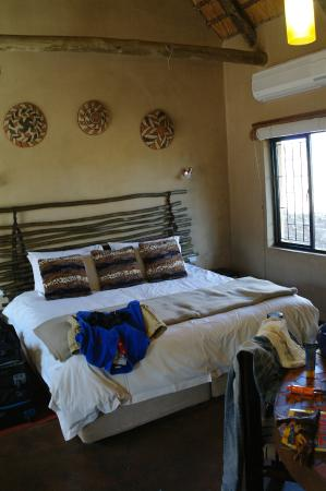 AmaZulu Lodge: Kamer