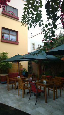 Peru Star Botique Apartments Hotel: patio