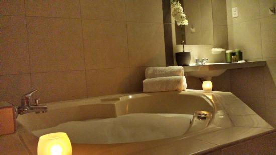 Hotel Belle Sand: habitación matrimonial con jacuzzi