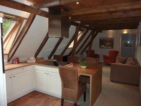 Norg, Países Bajos: ruim appartement op eerste verdieping