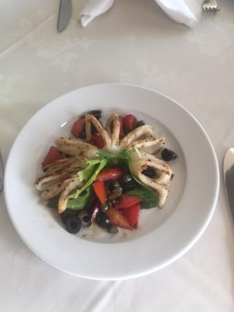 This Calamari Dellacasa appetizer is really yammy!