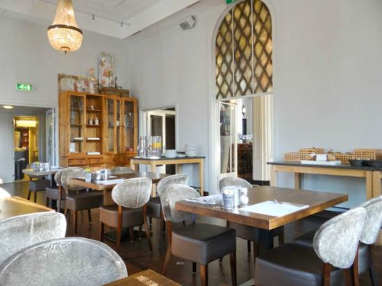 Brasserie Rubeshof: the interior