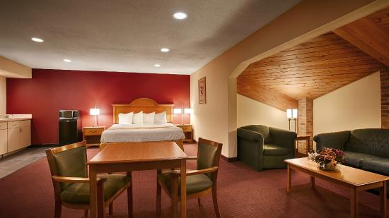 Best Western Shippensburg Hotel: Suite Guest Room - 1 King Bed