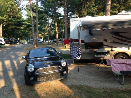 Wells Beach Resort Campground: espace assez intéressant