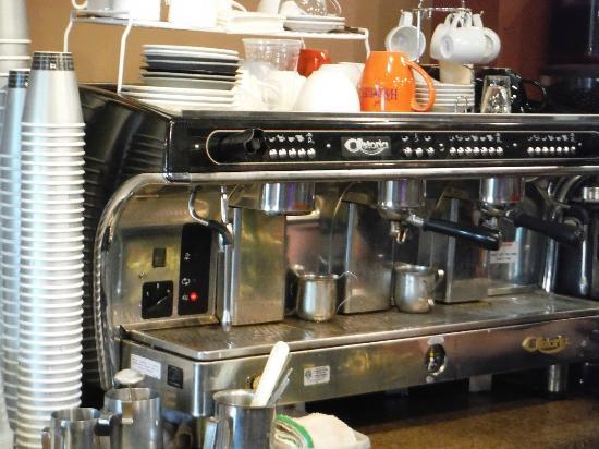 Harvest Coffee House & Beanery: Astoria espresso machine.