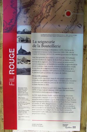 Informations sur les villages du Kamouraska, Belvédère de la Croix