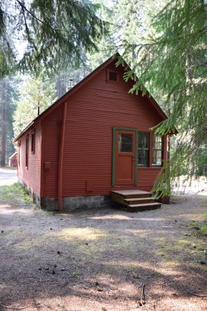 Prospect, OR: back of Cabin 18