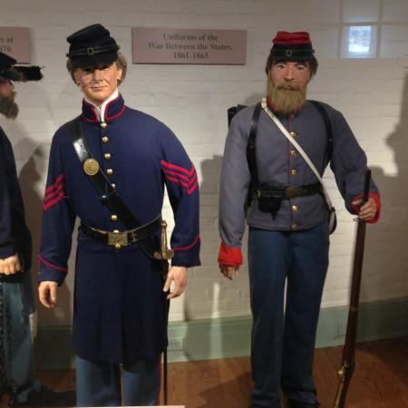 Nude civil war artillery uniform