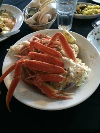 Cornish Manor Restaurant: Crab Legs
