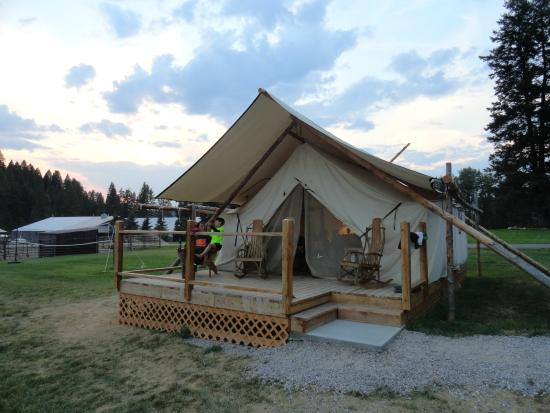 Bar W Guest Ranch Gl&ing Tent & Glamping Tent - Picture of Bar W Guest Ranch Whitefish - TripAdvisor