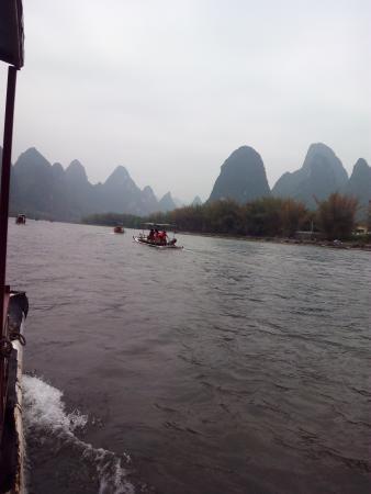 River View Inn: Crucero río Li en balsas de bambú