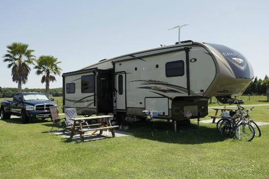 Peace River RV & Camping Resort: RV Sites