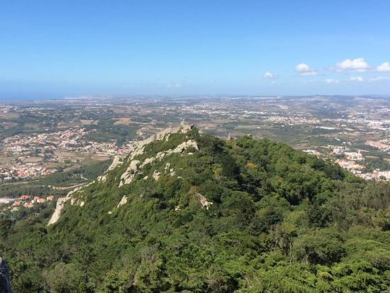 Lisbon Stories: View to Moorish castle