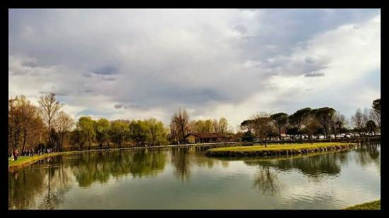 Fontanafredda, Italia: Vista lago