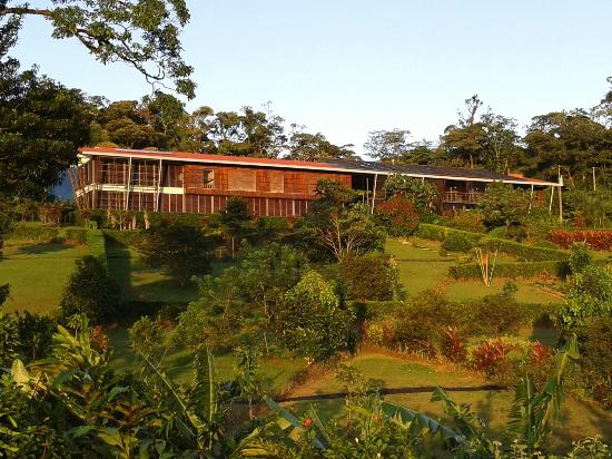 Celeste Mountain Lodge: Integrated to nature