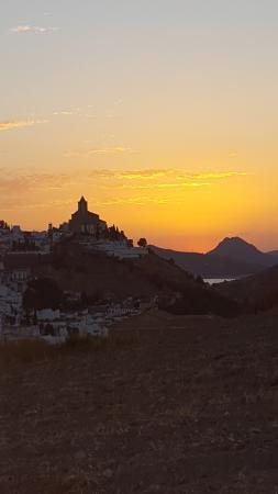 Casa Rural El Olivar: Sun-set