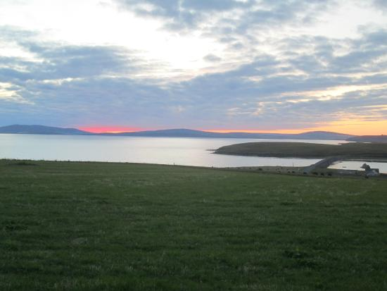 Sebay Mill Self Catering Apartments: A typical sunset at the Barriers