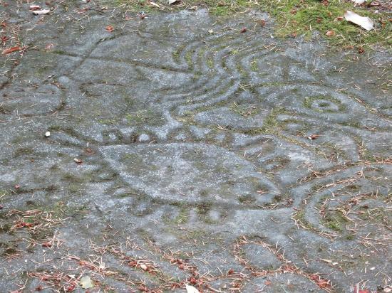 Nanaimo, Kanada: Actual Petroglyph!!