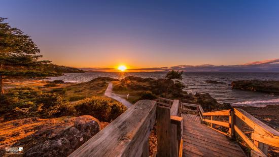 Nanaimo, Kanada: A Neck Point sunset