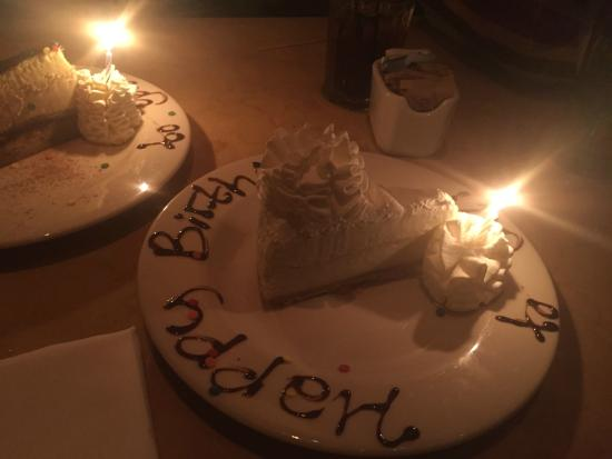 cheesecake birthday Picture of The Cheesecake Factory Raleigh