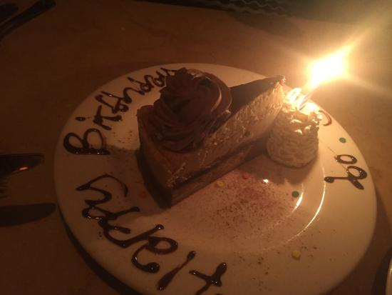 The Cheesecake Factory Birthday Cake