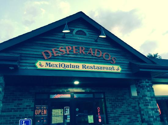 Dinner Burrito Picture Of Desperados Lake Placid Tripadvisor