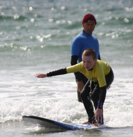 Blackfield Surf School: Wibbley wobbley wonder