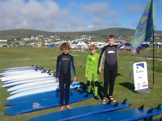 Blackfield Surf School: The lads