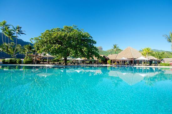 Manava Beach Resort Spa Moorea Pool
