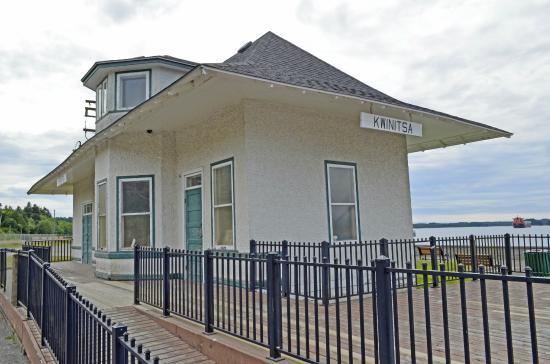 Kwinitsa Station Railway Museum & Park
