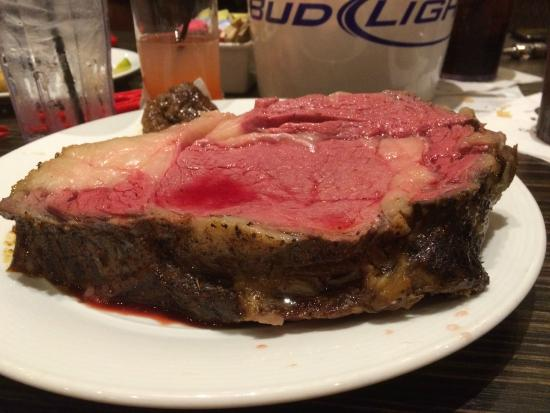 The Buffet At Golden Nugget Lake Charles Slab Of Perfect Prime Rib