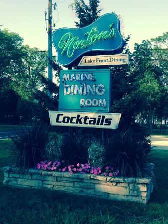 Norton S Of Green Lake Clic Super Club Sign