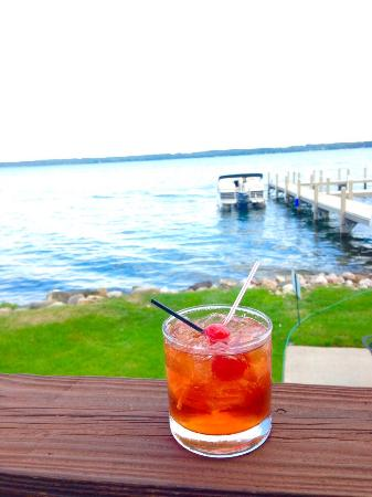 Norton's of Green Lake: The brandy old fashion, sweet...a Wisconsin classic!