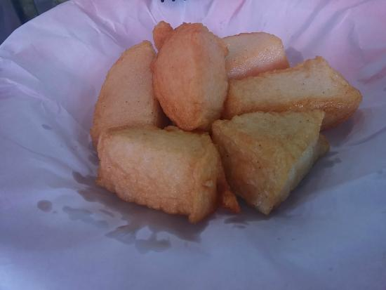 Deep fried fish slices picture of stanley market hong for Deep fried fish