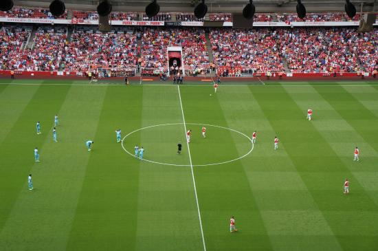 Emirates Stadium: View from Block 113 Upper Tier Row 30