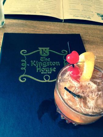 Kingston, WI: The top notch brandy old fashion, sweet.