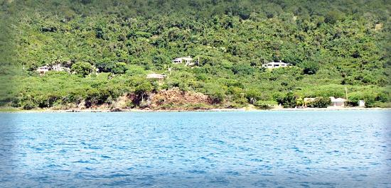 Tamarindo Estates Beach Apartments: Tamarindo Estates Beach Apts as seen from the ocean
