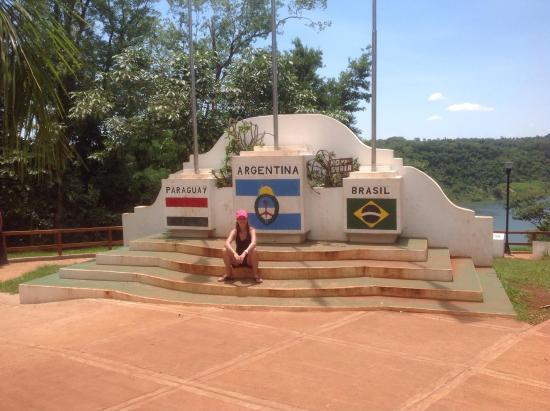 Hito de Las Tres Fronteras Argentina: Vista