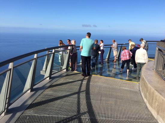 Cabo Girao: High up!