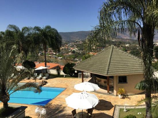 Hotel Vila Verde Atibaia: Vista do Quarto