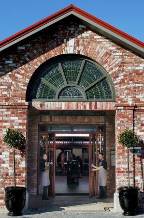 Main entrance to The Tannery