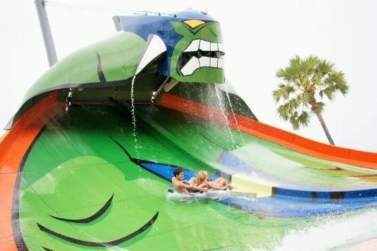 Jomtien Beach, Tailandia: Humungaslide