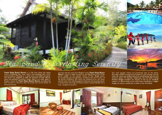 Puteri Bayu Beach Resort: Flyers