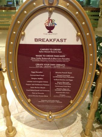 Swell Breakfast Menu Picture Of The Buffet At Wynn Las Vegas Interior Design Ideas Tzicisoteloinfo