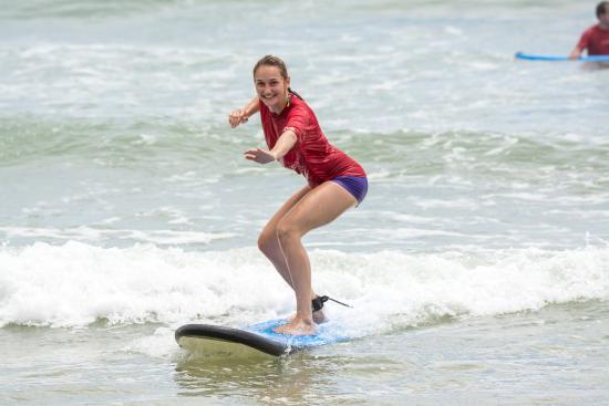 Merrick's Noosa Learn to Surf: Safe, fun soft boards.