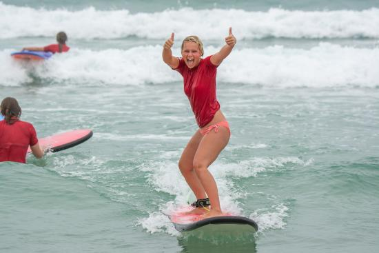 Merrick's Noosa Learn to Surf: Get fit while having fun